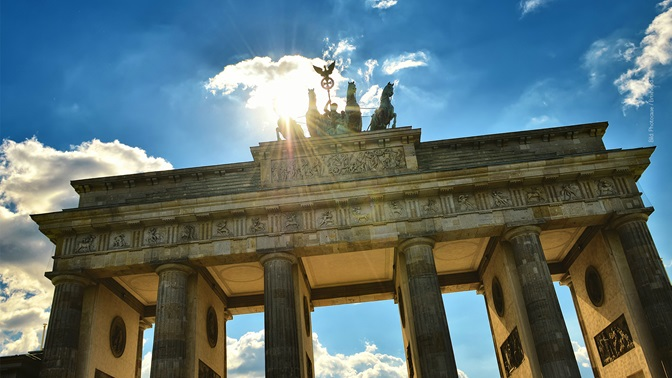 Bundestag elections in Germany, Brandenburg Gate in Berlin